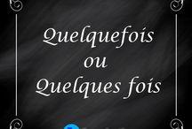 français / orthographe