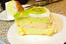 My cakes / Panna&kiwi
