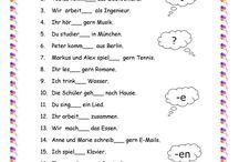 German worksheet