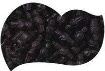 Black Candy Buffets / Celebrating anything??? Why not try celebrating with a black themed candy buffet???