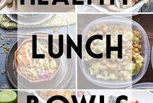 (Healthy) Lunch Ideas: