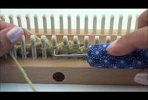 Loom Knitting / Decrease Crown of Hat
