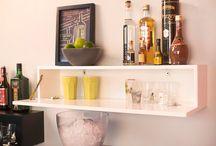 Sala de estar / Sala de jantar / Bar e Área do café / Salas integradas