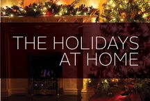 Holidays at Home / We love the holidays. They are the perfect time to visit with family, give gifts to the ones you love and, most importantly, make your home look as festive as possible. We have a great selection of holiday-inspired decor and party ideas for you to choose from, enjoy!
