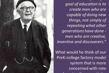 Piaget <3 / Early childhood theorist.