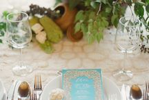 Wedding TableScapes and Tables / Wedding table decor, wedding florals, tablescapes, table themes, fine art wedding decor