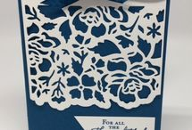 Stampin up Floral thinlets