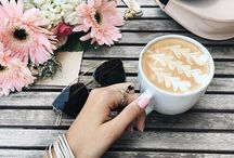 Coffee tea and hot chocolate