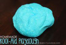 Homemade Playdough & Craft Recipes