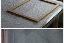 silkscreen & blockprint