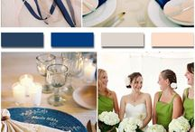 Blue color wedding