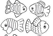 Kleurplaten Vissen