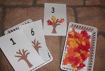 Kleuters thema herfst / leuke werkjes rondom het thema herfst