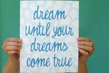 People, things, sayings, that inspire me!