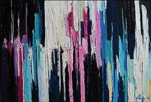 Malarstwo - abstrakcja / Malarstwo abstrakcyjne, czyli nie przedstawiające, nie figuratywne