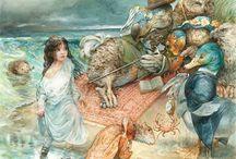 Alice in W:Omar Rayyan / Alice in wonderland (illustrator)