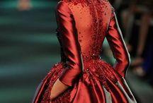 Rojo pasión / El color rojo siempre actual, espectacular y llamativo