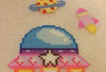 Hama Dans l'espace Perler Beads