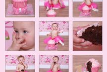 Cake Smash - from Sarah E Booker Photography's Messy Play range / We offer cake smash photo shoots which is part of our messy play series photo shoots x