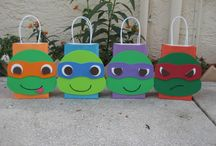 Kaylee's 13th birthday party ideas / TMNT PARTY! / by Erin Hicks