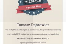 Certyfikat Agenta Miesiąca marketingdla.pl