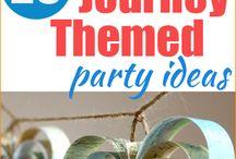 Travel theme party