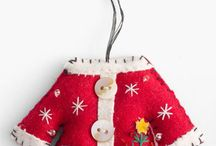 AAA:SANTA.REINDEER ornies&crafts / PULLED FROM MY CHRISTMAS ORNAMENTS BOARD, it's getting too big / by Dianne Mauth Daines