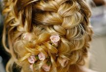 Coiffures/Beautiful Hair / I do not own these pictures.  Feel free to pin as many as you like.  I have no limits on my boards.  Enjoy! / by Ellen Smith-Lotz