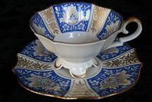 Vintage - Kop & Schotels - Cups & Saucers / Alle soorten en maten kop en schotels van O'Seas Oud Servies - All kinds of cups and saucers by O'Seas Oud Servies