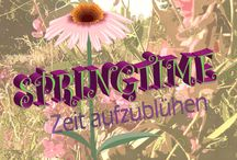 Frühling Springtime / Alles zum Thema Frühling, Frühlingsgefühle.