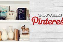 Trouvailles Pinterest: La bibliothèque