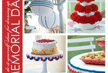 Patriotic Decor / by Ginger Searle