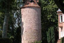 Dachstein / Quelques images du village fortifié de Dachstein sur la Route des vins en Alsace.