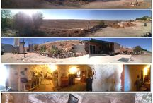 Cave Houses and Hotels / Cave houses, hotels, Dugouts (Australian), and cool homes built underground.