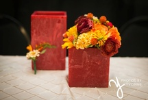 Fall Wedding Flowers / Fall wedding inspiration by Beautiful Blooms by Jen for weddings and events.