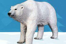 Polar Bears / All about Polar bears. Polar bear statues for your home and fun polar bear photos.