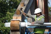 Wolfson Tree Management Centre / A timber frame building at Westonbirt