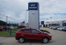 SOLD!!! 2013 Hyundai Tucson $22,819 Stock #5560 / Year:2013 Make:Hyundai Model:Tucson Series:GLS 2WD Body:4 Dr SUV Engine:2.4L 4Cyl Transmission:Automatic Tiptronic Miles:5 Price:$22,819
