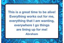 Inspirational Quotes - Abraham Hicks