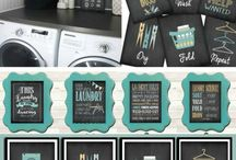 Diy Laundry Room Decor