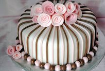 1 Fancy Cakes / A simple cake can be the center of the event. / by Deva Kolb
