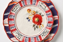 Happy Dishes / A perfect plate to eat off of, the nicest cup to sip from, a small feast for the eyes