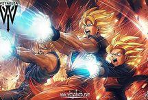Dragon Ball (Original,Z,Kai,GT e S)