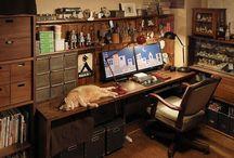 書斎、図書室