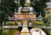 { Lakeside Retreat } / House ideas