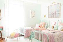 New House: Girls' Shared Room