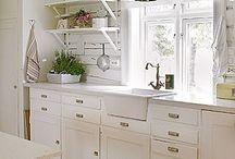 White Cottage Kitchens.. I LOVE