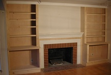 Fire place TV room