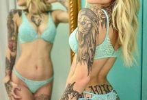 Szexi tetoválás