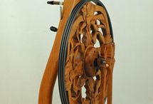 Spinning Wheel / I'm in love with spinning wheels. Especially old wheels.  / by Sylvia Gauthier